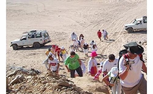 Full Day Jeep Safari - Hurghada - Intro The action-packed Hurghada Jeep Safari promises a day full of adventure with a visit to a Bedouin camp a camel ride quad bike ride delicious meal folklore show and lots of fun and laughter! Full Day Jeep Safari