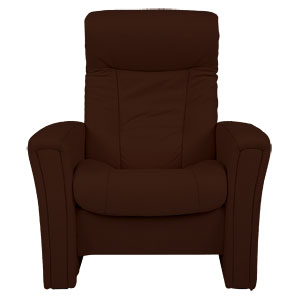 Exclusive to John Lewis, this Gemini reclining chair, made from softline leather, is specifically