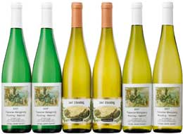 Elite whites from Germany led by two celebrated Rieslings.