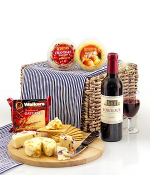 Henri Moreau Bordeaux 2004 37.5clWalkers Triangular Traditional Oatcakes 100gCrandale Wensleydale wi