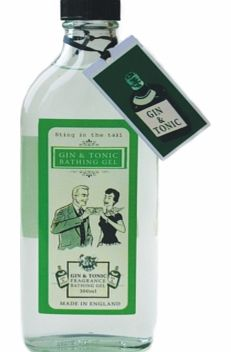 Gin and Tonic Bath and Shower GelNow you can relax in your bath (or shower) not only with a Gin and Tonic but IN a Gin and Tonic too! This amusing Gin and Tonic Bath and Shower Gel will lift your spirits (ha ha!) and is an ideal present for the perso