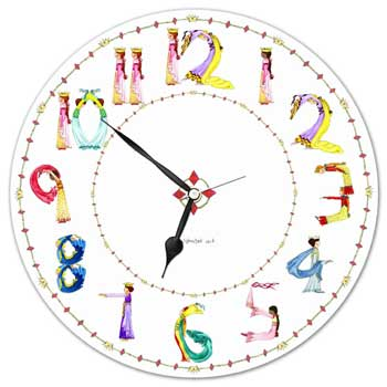 These clocks are unique, educational and functional; your child will love the characters and the soo