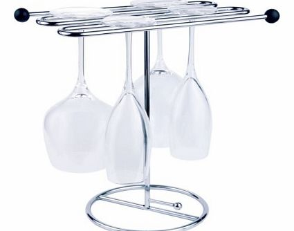 Glass Dryer for Stemmed GlassesDrying stemmed glasses can be a bit of a nightmare, finding a way to balance them on the drainer and then being frustrated by water marks left on the rim. Well we have the solution with this stylish, chrome plated Glass