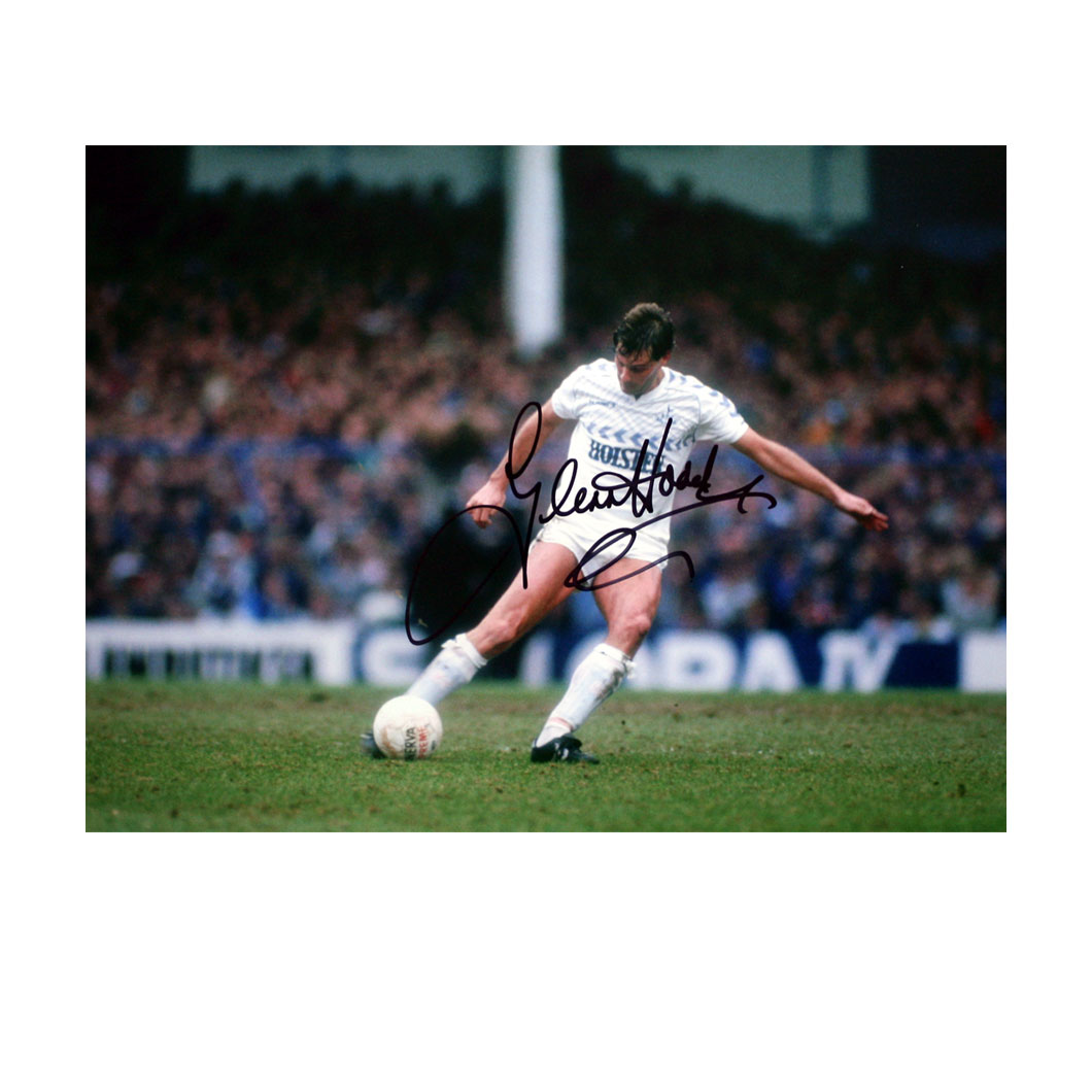 The photo shows Glenn in action against Newcastle in the 1987 FA Cup. The photograph is 16` x 12` in
