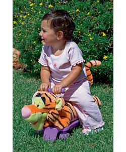 Hear Tigger talks, play his theme song and other fun melodies.Soft body for comfortable