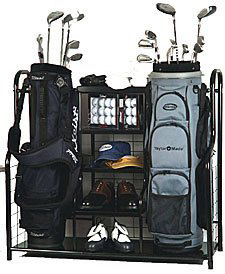 NEW       IN BOX           Golf Bag OrganiserFed up with your golf clubs being strewn across the gar