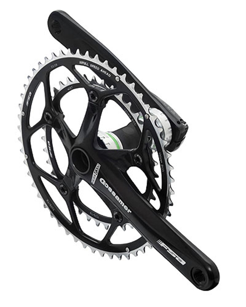 Road use, Shimano 10 speed compatible.  Integrated MegaExo BB, cold forged aluminium crank arms,