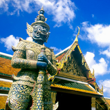 You simply cannot visit Bangkok without viewing the Grand Palace complex and the Temple of the Emera
