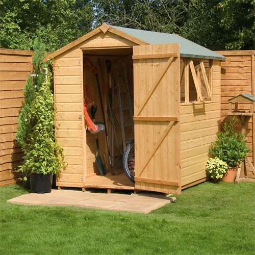 Groundsmen apex 7x5 garden shed review compare prices for Garden shed 7x5