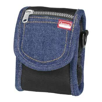 # Hama Camera Case JEANS - Black with Denim Finish - 26103 - CLEARANCE