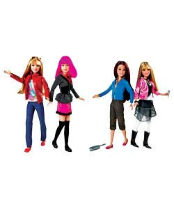 The Hannah Montana gift set pairs two favourite characters from the show - Hannah and Miley or Hanna