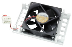 Hard disk drives are often damaged because of the high temperature within the PC housing - especiall