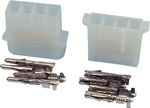 · Used on 51/4 inch disk drives  CD-ROM drives  etc · Supplied with 4x crimp/solder terminals and