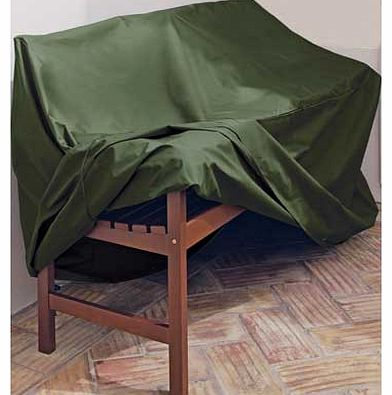 When the weather takes a turn for the worse. this heavy-duty cover is ideal for protecting against showers. frost and wind. With minimal self assembly. the green polyethylene design ensures it blends into the garden. Cover made from plastic. Size H90