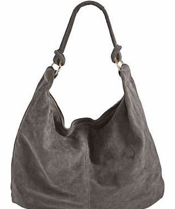 Casual suede handbag with a zip fastener and internal zip pocket. Heine Bag Features: Zip fastener Suede Size approx. 45 x 38 x 2 - 17 cm (18 x 15 x 1 - 7 ins)