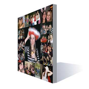 Unbranded Hen Night Canvas Photo Montage
