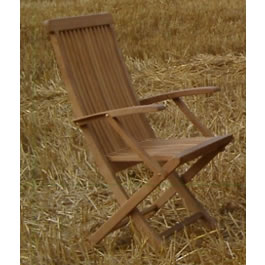 The high back chair offers an alternative to the chunkier fixed chair. Although more dainty they