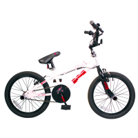Urban guile in a smaller style with this childrens BMX bike!    18  wheel  Rider friendly frame