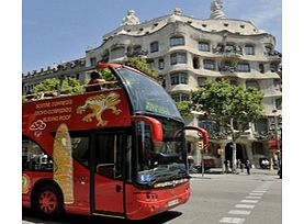 Explore Barcelona with a one or two day Hop-in Hop-Off bus ticket. With two interconnected routes and over 30 stops around the city, this ticket offers the easiest way to get around Barcelona and see all the sights. Get a birds eye view of the cobble