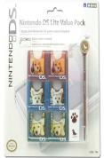 Nintendogs value pack comes with 6 x game cases with 3 different characters to choose from when your