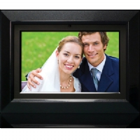 DF770-11 HP 7 Black/Silver Digital Photo Frame with 128MB Internal Memory