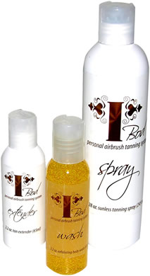 Get a gorgeous tan in the comfort of your own home with the I-Bod Airbrush Instant Tanning System