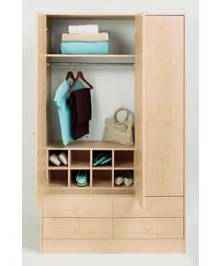 Size (W)71.4, (H)32.4, (D)32.8cm.Interior storage cube with 8 compartments to fit Malibu and Vision