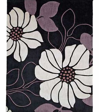 This elegant. poppy design rug will add a touch of class and comfort to your floor. Understated and tasteful in style. this cosy rug is ideal for bringing warmth and texture to your home flooring and its soft exterior is great for sore feet at the en