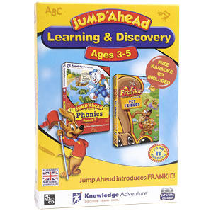 Jump Ahead: Learning and Discovery- Ages 3-5 PC Mac CD