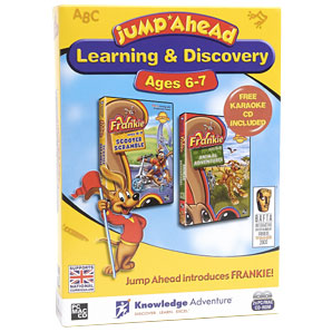 Jump Ahead: Learning And Discovery- Ages 6-7- PC Mac CD