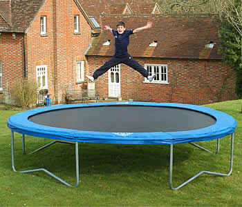 jumpstar supra trampoline 14ft trampoline review compare prices buy online. Black Bedroom Furniture Sets. Home Design Ideas