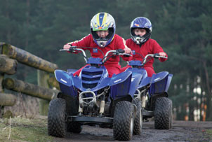 If you thrive on challenges, mud and speed then this experience was made for you.  Quad bike riding
