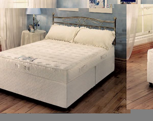 Kaymed impressions 2000 6ft zip link divan bed for 6 foot divan