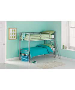 Unbranded Kenny Silver Shorty Bunk Bed Frame