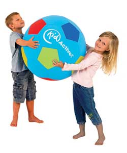 Big and bright inflatable football.Brilliant fun perfect for your little sports people.East to infla