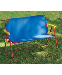 Bright and colourful childrens deck chair style be