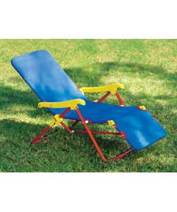 Kids can sit back and take it easy with this brigh