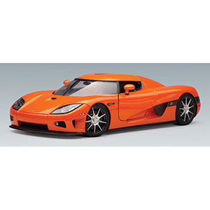 Unbranded Koenigsegg CCX 2006 - Orange 1:18