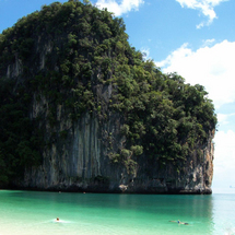 An exciting speedboat ride takes you away from the crowds to Koh Hong Island where you will discover