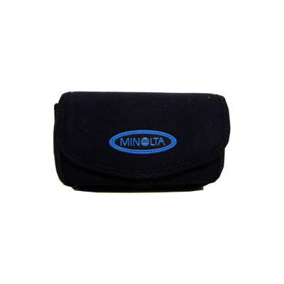 A soft case designed to fit the Konica Minolta S304, S404 and S414 digital cameras.