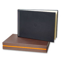 Luxurious real leather albums.  40 pages interleav