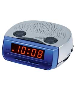 led alarm clock radio fm am review compare prices buy online. Black Bedroom Furniture Sets. Home Design Ideas