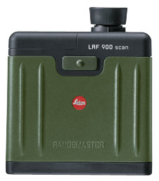 The LEICA RANGEMASTER 900 scan laser rangefinder features an additional scan function, that