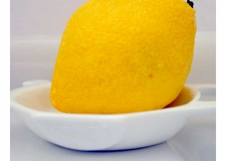 Lemon Shaped SoapDelicious looking, but definitely not for the fruit bowl, this handmade Lemon Shaped Soap is perfect for the bathroom though.With a clean, fresh fragrance, the fruit shaped soap will look beautiful in any setting and is also great fr