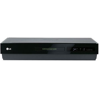 LG LG DVD-HD SMB Blu Ray player. Plays Blu-ray Disc and HD DVD high-definition disc formats with mor