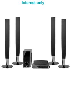 Black.DVD Player:Sound system Dolby.5.1.10.1 Virtual Sound Matrix (V.S.M.) for 10.1 virtual surround