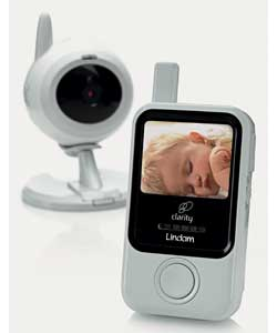 Digital.Portable parent video.Range 150m.Out of range indicator.Volume control.Night light.Sound sen