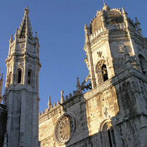 Explore the delights of Lisbon including the Jeronimos Monastery and the Belem Tower before heading