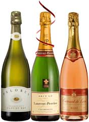 Vivacious bubblies to pop open at your next celebration - Laurent Perrier Cloudy Bay and more!