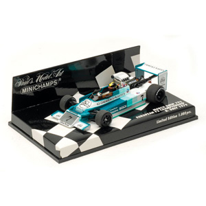 Minichamps has released a 1/43 replica of Derek Daily`s March BMW 792 which he raced in the 1979 Eur